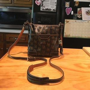 D&B 1975 Cotton Coated Leather Crossbody